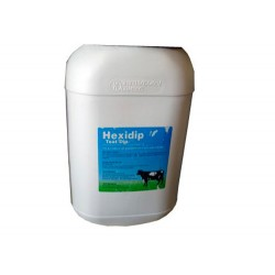 Hexidip Teat Dip Solution 25Ltr