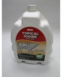 Topical Iodine 2 5ltr - Ryall O' Mahony