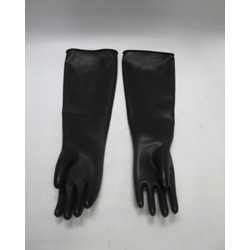 Gloves Black Gauntlet Milkmaster Sz10